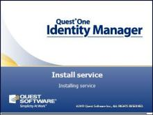 Установка Dell (Quest) One Identity Manager